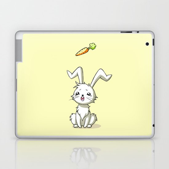 Bunny Carrot Laptop & iPad Skin