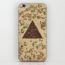 Marauder's Map - I Solemnly Swear iPhone Skin