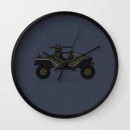 Halo Warthog Wall Clock