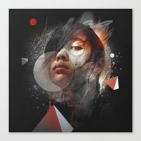almost famous Canvas Prints featuring Almost Famous by Andre Villanueva