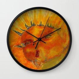 Menses 36 Even Fairies Bleed Wall Clock