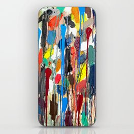 Paint upwards iPhone Skin