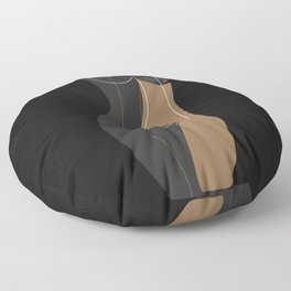 Caramel Night Floor Pillow