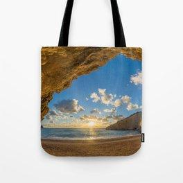 Porto Katsiki beach Tote Bag