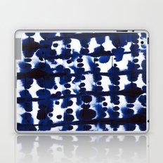 Parallel Indigo Laptop & iPad Skin