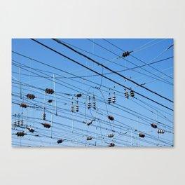 Crossed wires, Washington DC Canvas Print