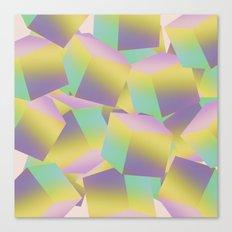 Fade Cubes B2 Canvas Print