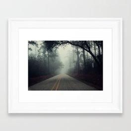 A Silent Road Pt. 2 Framed Art Print