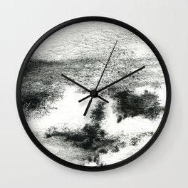 Black/white#2 Wall Clock