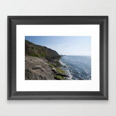 English Coast Framed Art Print