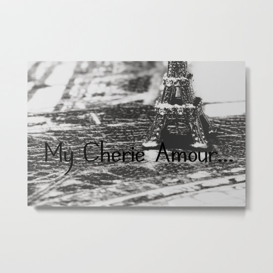 My Cherie Amour... Metal Print
