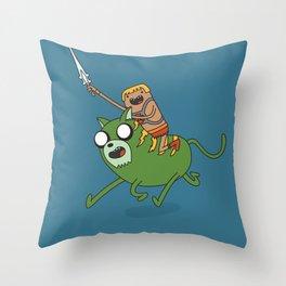 Finn the He-Man Throw Pillow
