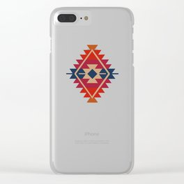 Daryl's Poncho Clear iPhone Case