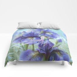 Imagine - Fantasy iris fairies Comforters