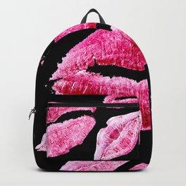 Kisses All Over (Black) Backpack