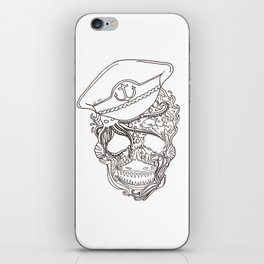 Captain Ocean iPhone Skin