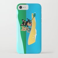 rowing iPhone & iPod Cases featuring Rowing by BATKEI