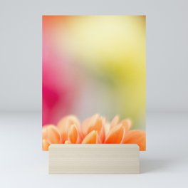 Orange Dahlia Mini Art Print