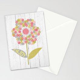 Dot Flower Stationery Cards