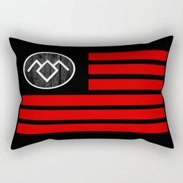 The Owl Flag Rectangular Pillow