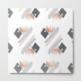 Geo Pattern Metal Print