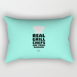 Real Grill Chefs are from Bangkok T-Shirt D47nz Rectangular Pillow