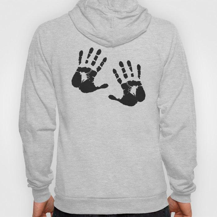 Hand Print Halloween Hoody