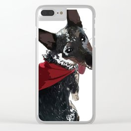 Adorable Dog Wrigley Clear iPhone Case