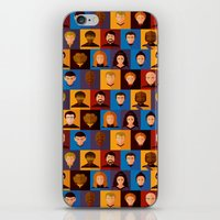 picard iPhone & iPod Skins featuring STARFLEET by badOdds