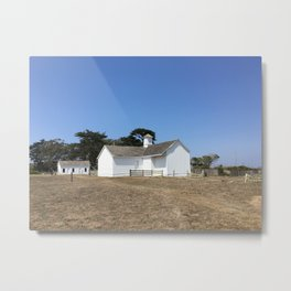 SUMMER RANCH II Metal Print