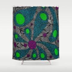 - cosmos_06 - Shower Curtain