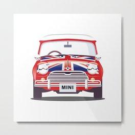 British Mini Metal Print