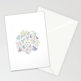 Triangles N2 Stationery Cards