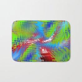 vibrating colors Bath Mat