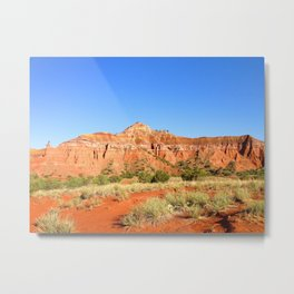 Capitol Rock, Palo Duro Canyon, Texas 2013 Metal Print