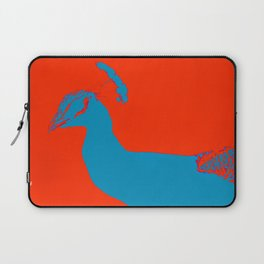 Peacock RED Laptop Sleeve