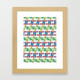F for Fanny - Unique, personalised initial print. Framed Art Print