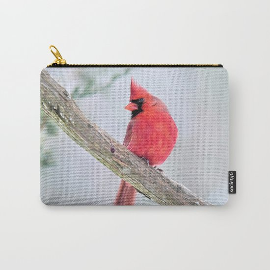 "Cardinal: ""Do You Hear What I Hear?"" Carry-All Pouch"