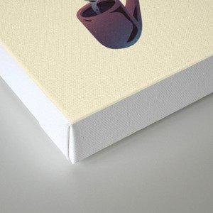 Humo y sabor Canvas Print