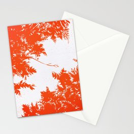 Night's Sky Persimmon Stationery Cards