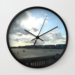 Perfect Beach Day Wall Clock