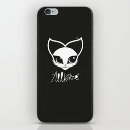 ALLKATZE * Space Cat - Weltraum-Katze - Chat d'Espace iPhone Skin