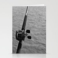 fishing Stationery Cards featuring Fishing by Raymond Earley