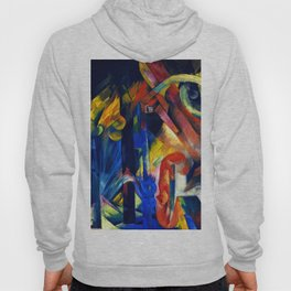 "Franz Marc ""Forest with squirrel"" Hoody"