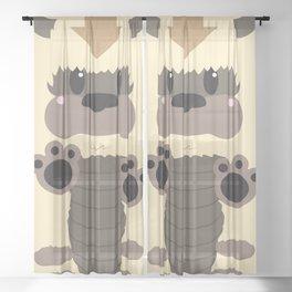 Appa Block Sheer Curtain