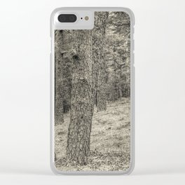 In the forest #3 Clear iPhone Case