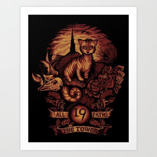 Nineteen Art Print