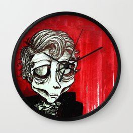 Numero 11,  August Ghoul #11 Wall Clock