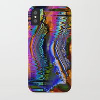 skiing iPhone & iPod Cases featuring Swiftly Skiing by Robin Curtiss