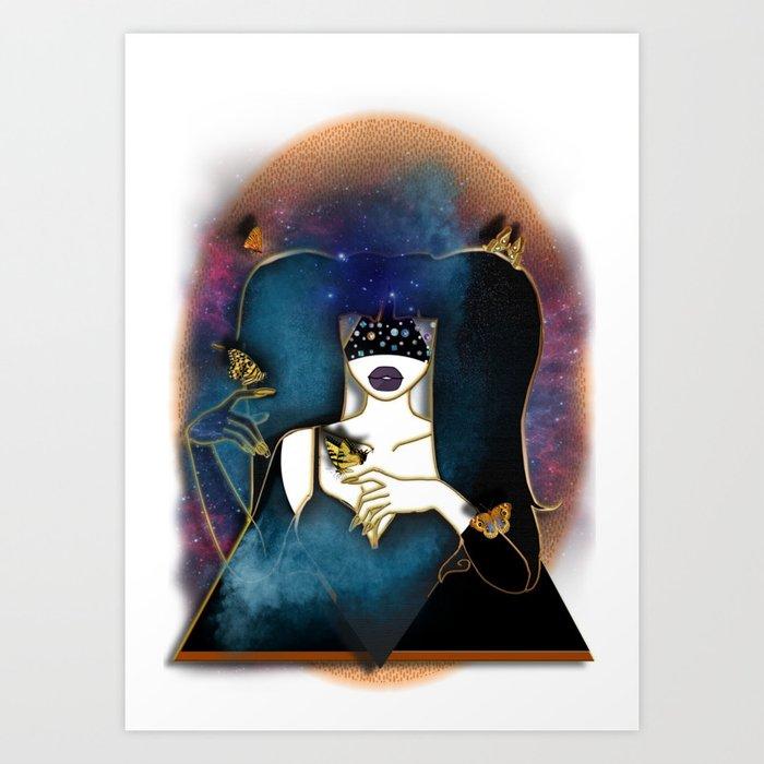 LOVE GALORE Art Print